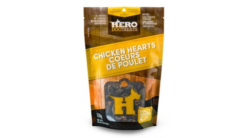 HeroDogTreats™ Chicken Hearts 150g
