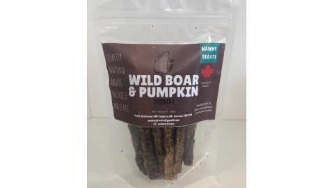 Nammy Treats Wild Boar & Pumpkin Sticks 95g