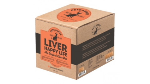 """Pets Agree Liver Bar - 2 lb box (large bars 3.5"""")"""